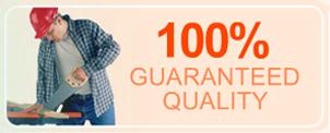 100 % Guaranteed Quality