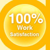 100% word Satisfaction